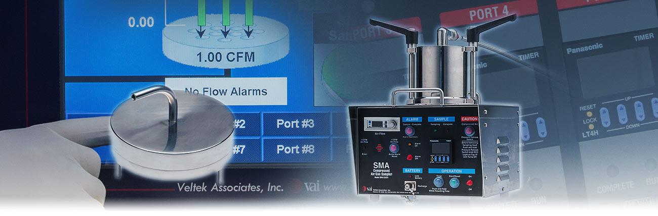 SMA Compressed Air Sampler Details