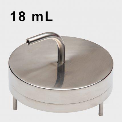 SMA Compressed Air/Gas Atrium Assembly - 18 mL Fill - SMA-316-CA-18