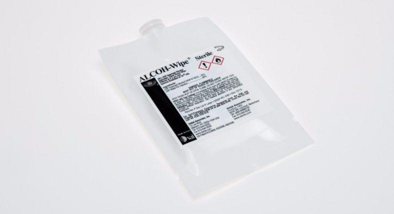 ALCOH-WIPE 70% - VEL6-12X12-S-2302
